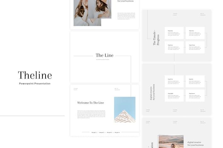 Theline - Powerpoint Шаблон