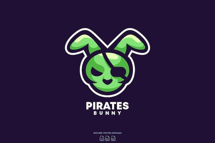 Thumbnail for Pirate Bunny Logo Design