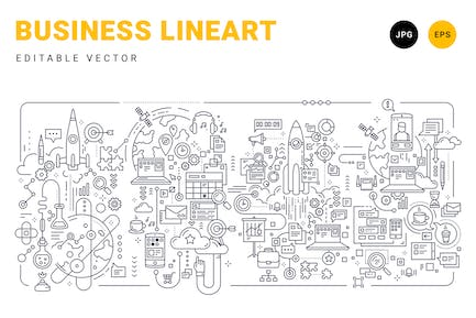 Business-Lineart
