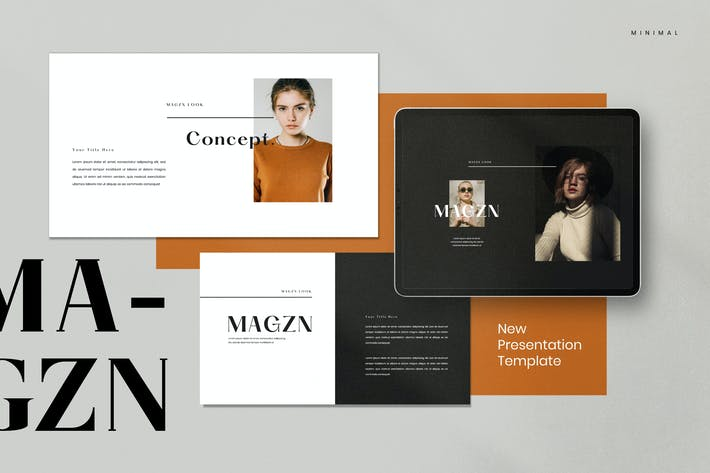 Thumbnail for MAGZ - Lookbook Fashion Keynote Creative Agency