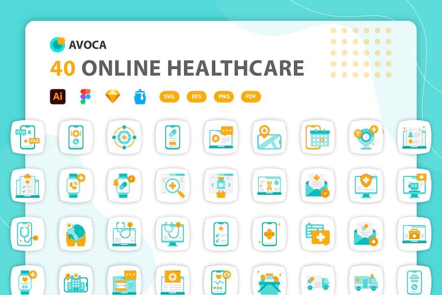 Avoca - Online Healthcare Icons