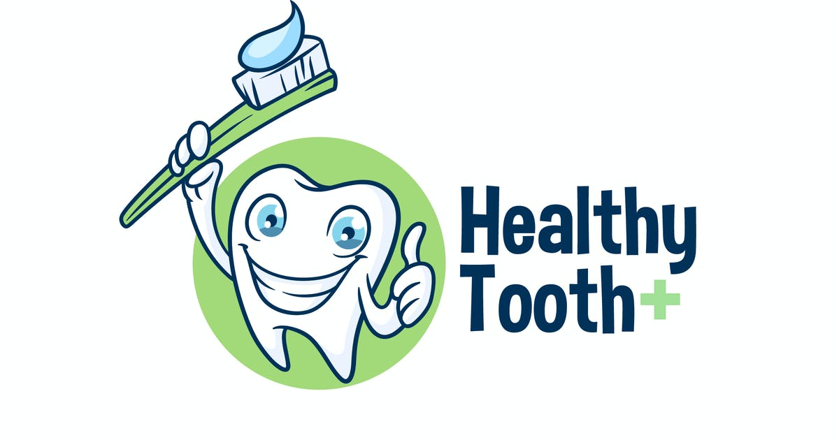 Download Healthy Tooth - Dental Character Mascot Logo by Suhandi