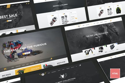 Motor Vehikal - Motorcycle Online Store HTML