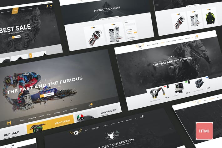 Thumbnail for Motor Vehikal - Motorcycle Online Store HTML