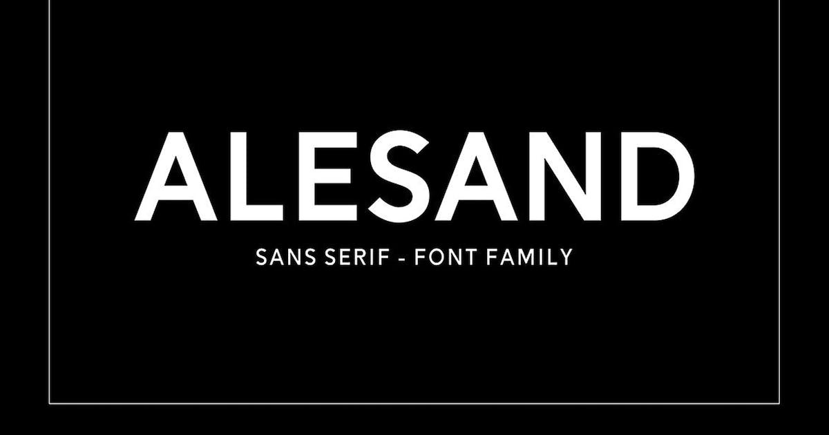 Download Alesand Typeface by Solidtype