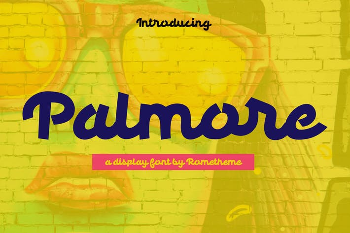 Thumbnail for Palmore - Display Font RS