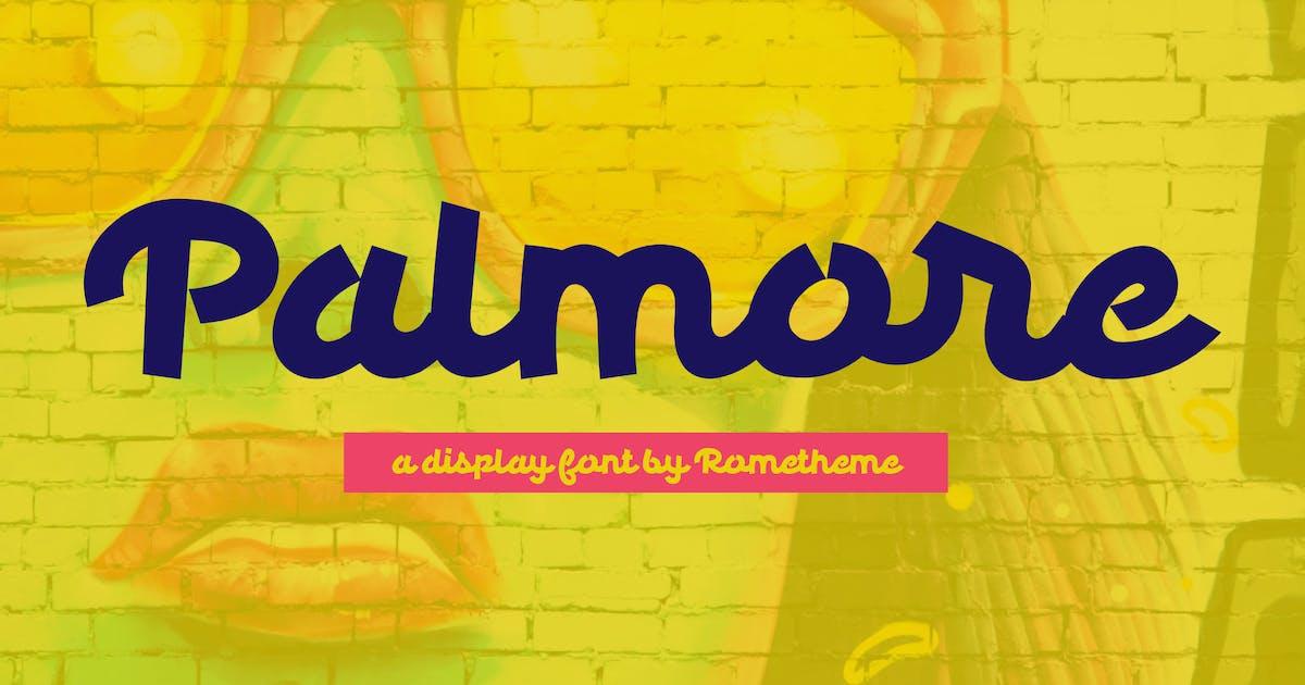 Download Palmore - Display Font by Rometheme