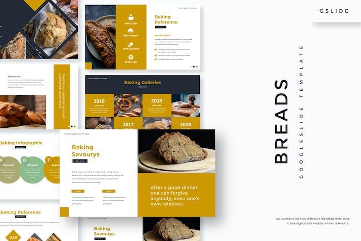 Хлеб - Шаблон слайдов Google