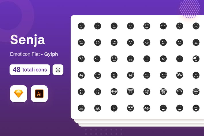 Gylph Senja - Emoticons