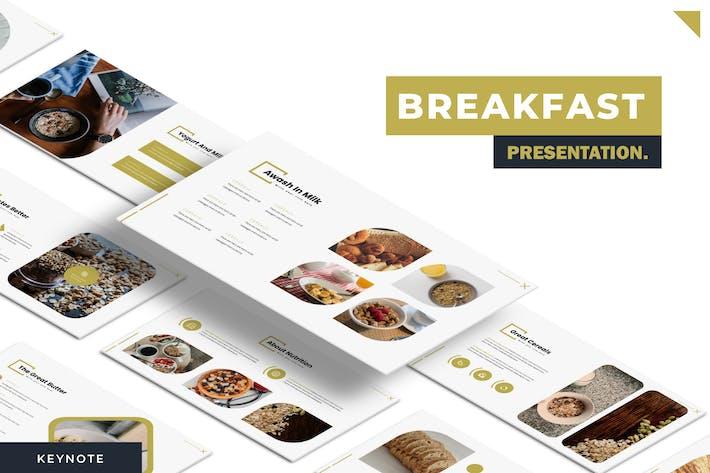 Завтрак - Шаблон Keynote