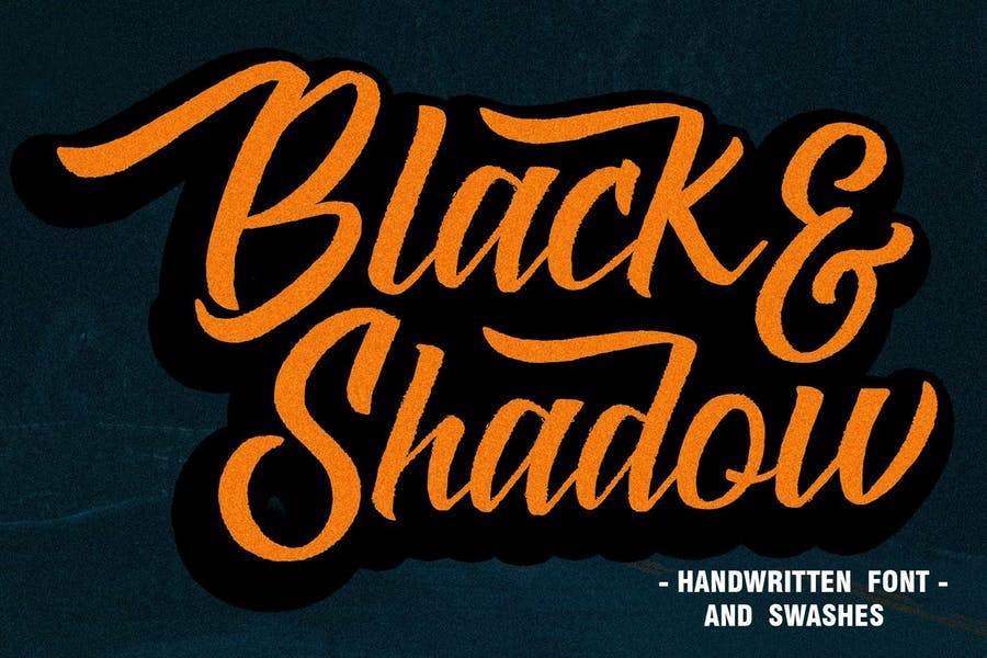 BLACK & SHADOW