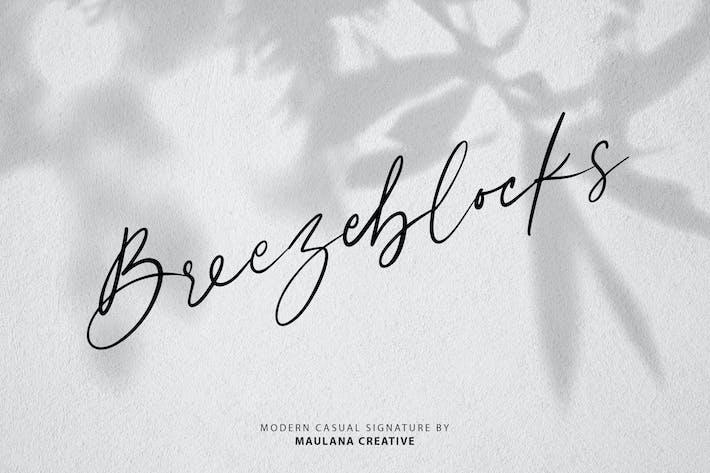 Thumbnail for Breezeblocks Modern Casual Signature