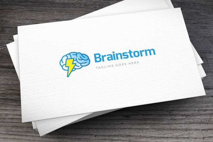 Thumbnail for Brainstorm Logo Template