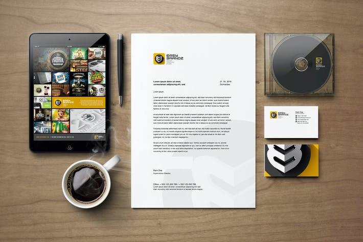 Thumbnail for Stationery Mockups Vol.01