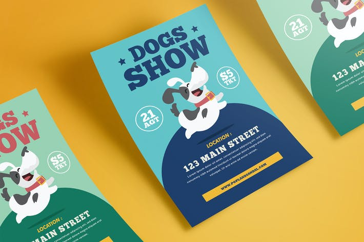 Thumbnail for Dog Show Flyer