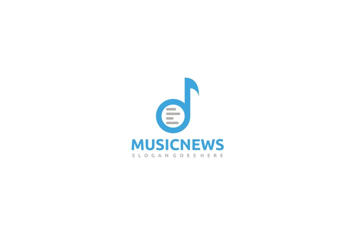 Cover Image For Music News Logo