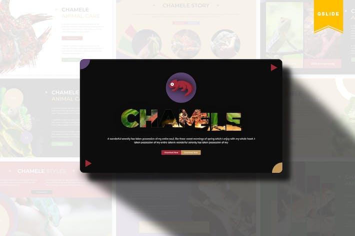 Thumbnail for Chamele | Google Slides Template