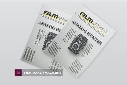 Film Maker | Magazine Template