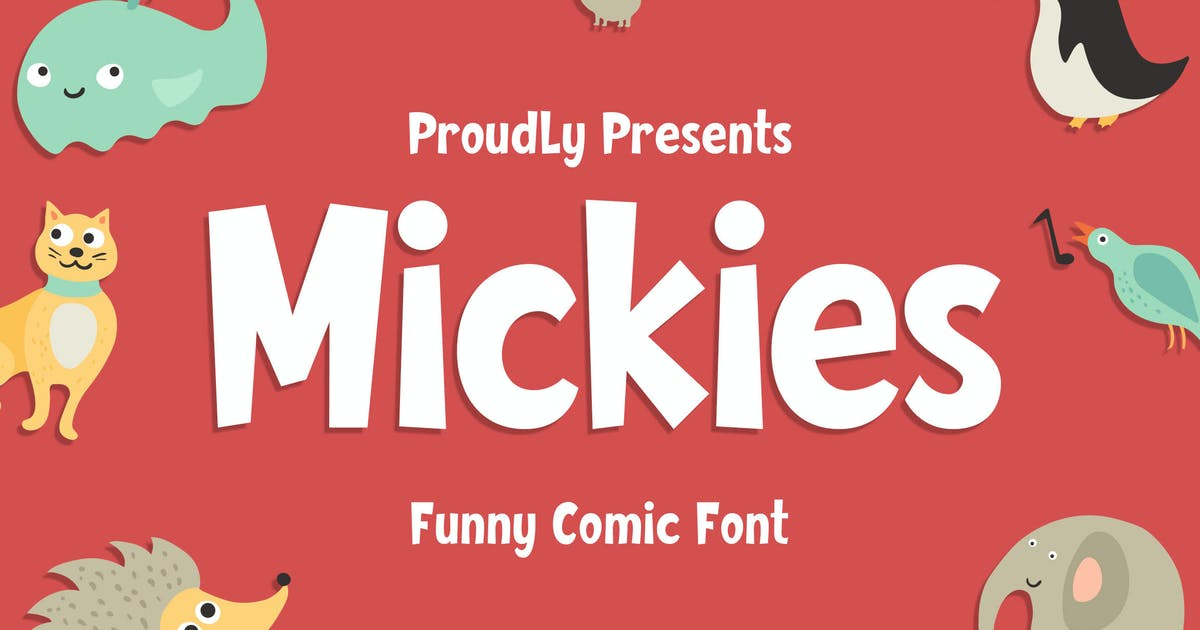 Download Mickies - Funny Comic Font by Blankids