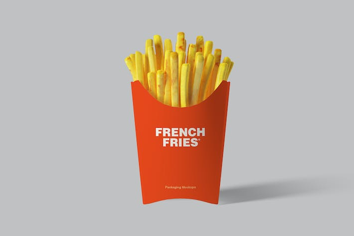 Thumbnail for French Fries Packaging Mockups