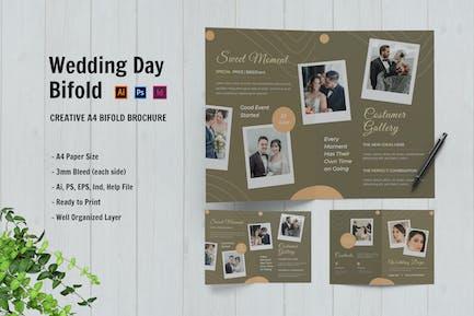 Wedding Day Bifold Brochure