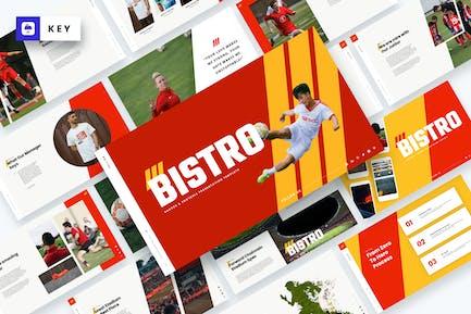 Bistro - Soccer & Football Keynote Template