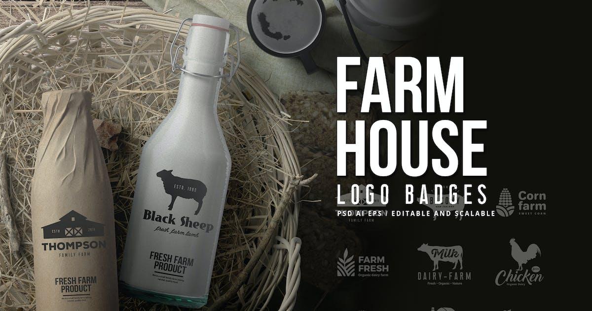 Download Farm House Logo Badges by BNIMIT