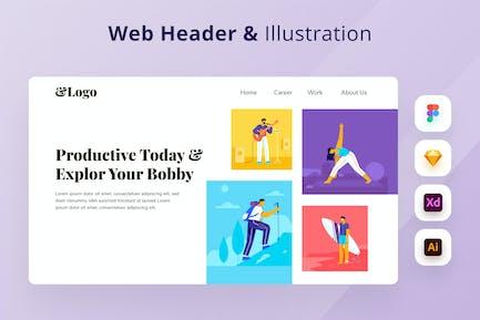 Hobby Exploration Web Header
