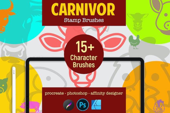 Thumbnail for Carnivor | Кисти для штам