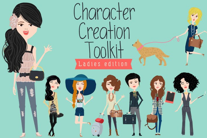 Thumbnail for Character Creation Toolkit - Ladies