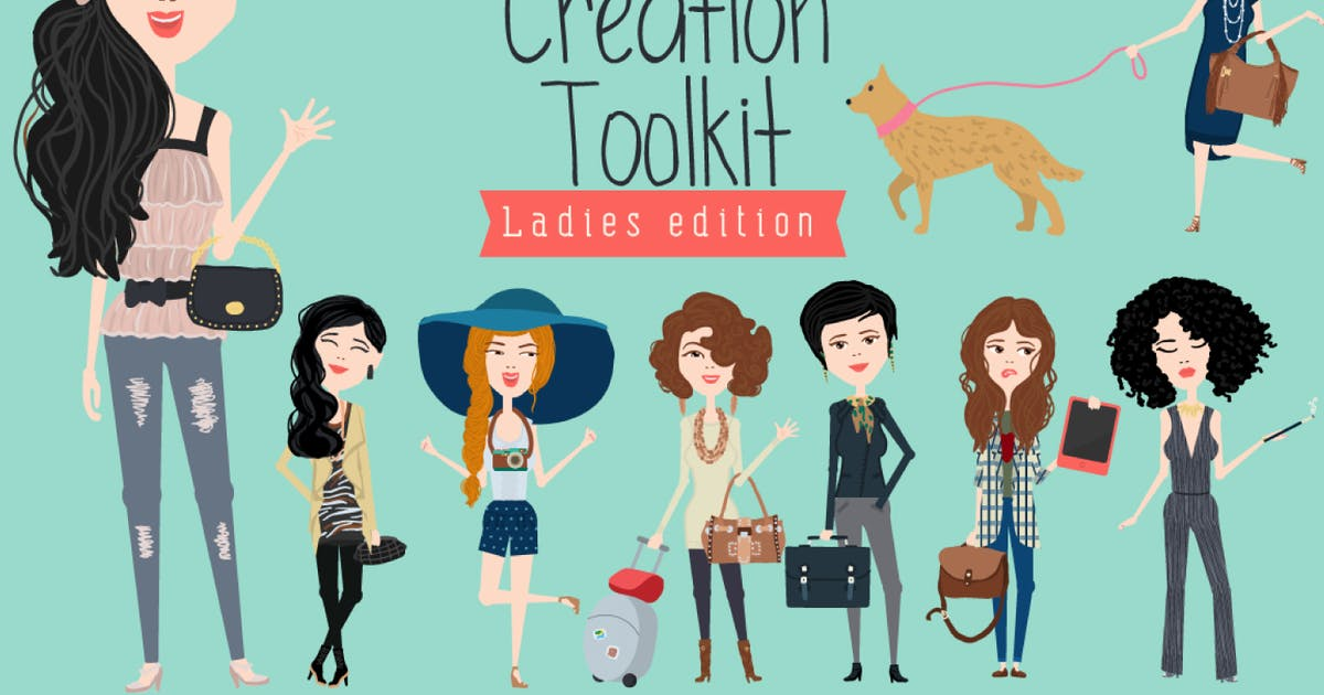 Download Character Creation Toolkit - Ladies by AnnaIvanir