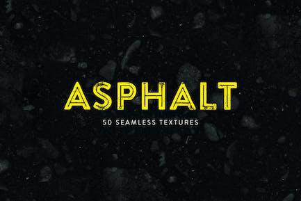 Asphalt - 50 Seamless Textures