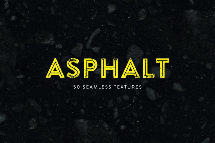 Thumbnail for Asphalt - 50 Seamless Textures