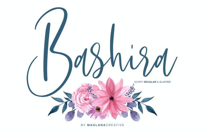 Thumbnail for Bashira Brush Script