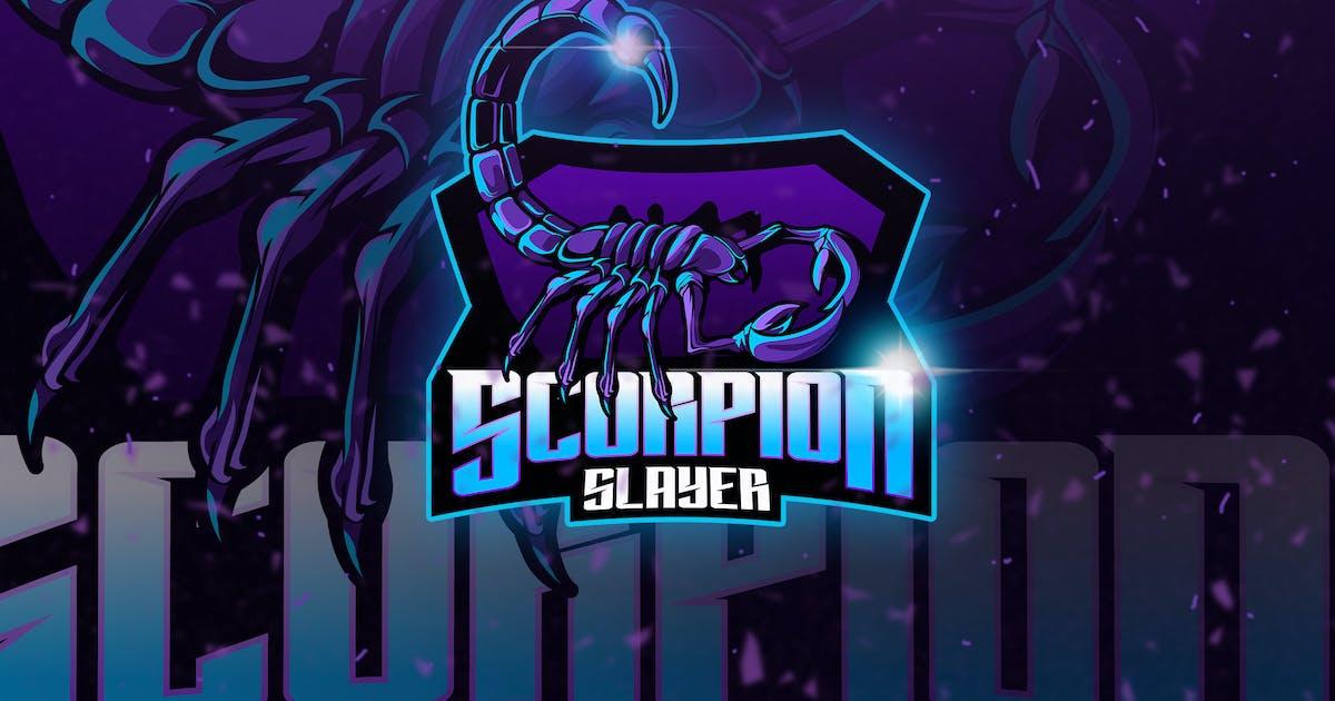 Download Scorpion - Mascot & Esport Logo by aqrstudio