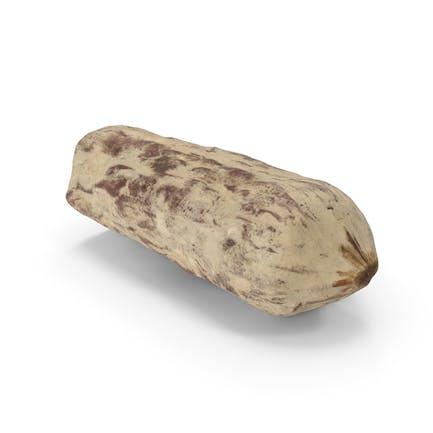 Salami halbiert