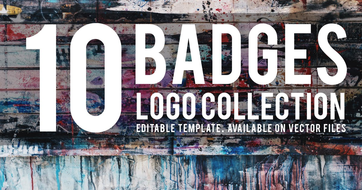 Download 10 Badges Logo Collection by orcacreative