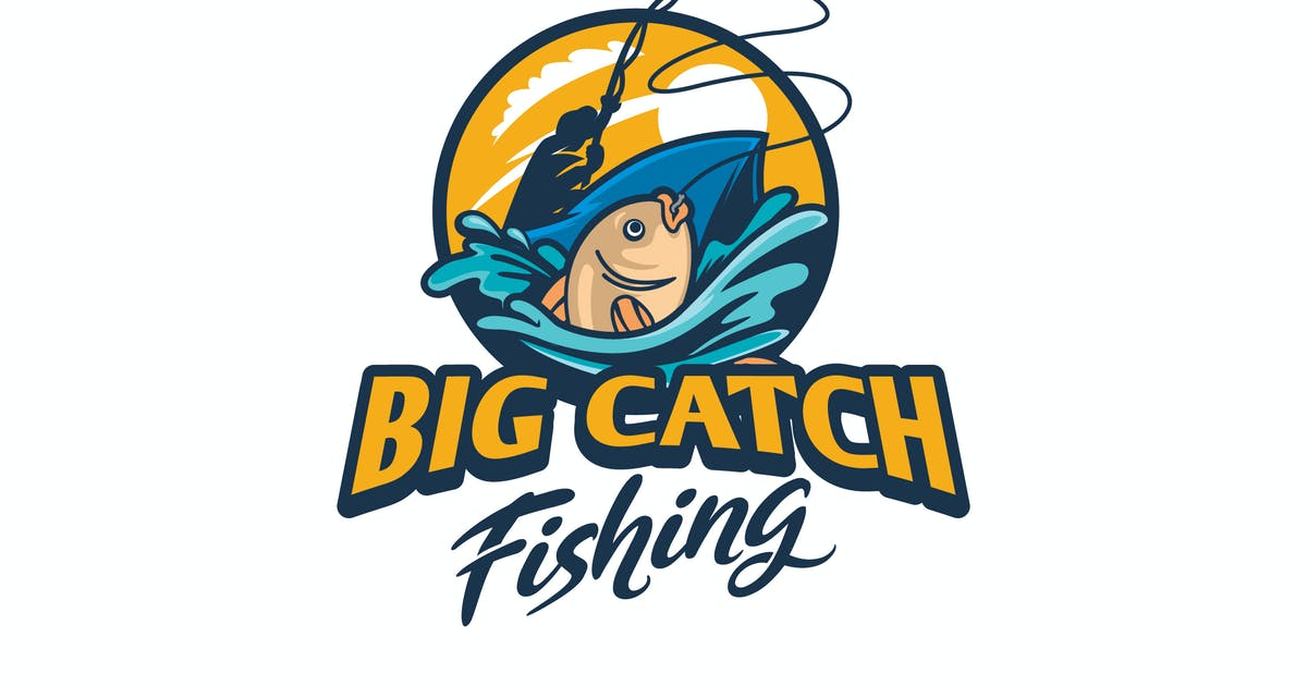 Download Illustrative Fishing and Angler Logo by Suhandi