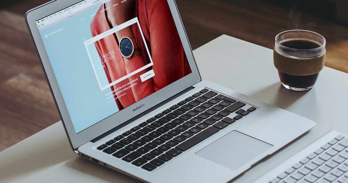 Download Macbook Mockups Vol 11 - Web App by itscroma