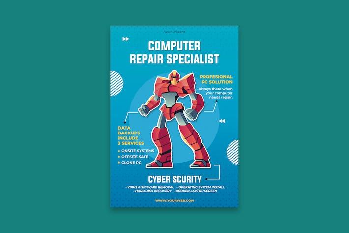 Thumbnail for Affiche du service informatique