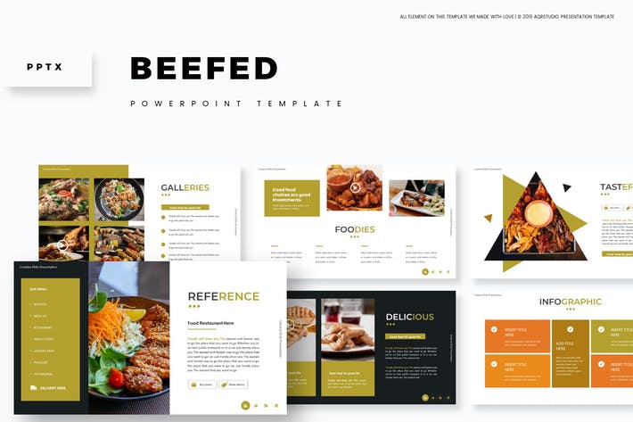 Thumbnail for Beefed - Powerpoint Template