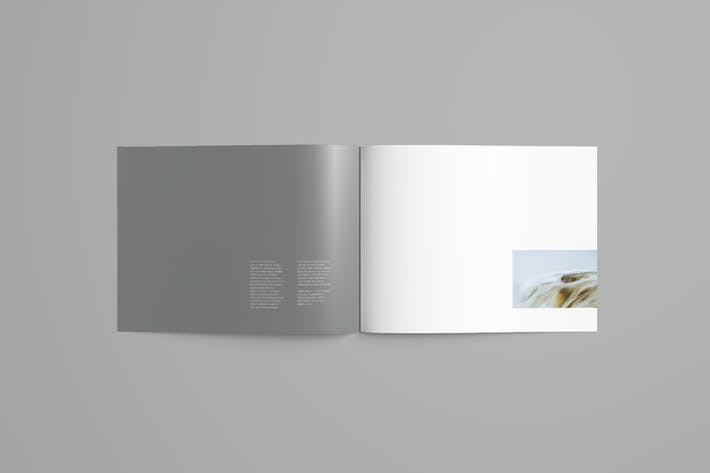 Thumbnail for Horizontal Brochure Mockup