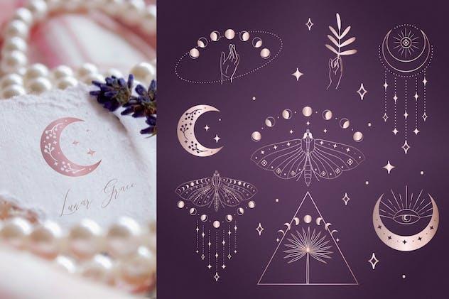 Divine Beauty Pre-Made Designs. Esoteric. Mystic.