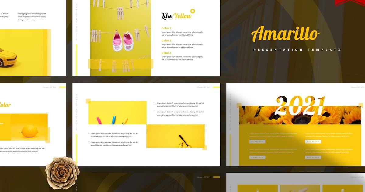 Download Amarillo | Powerpoint Template by Vunira