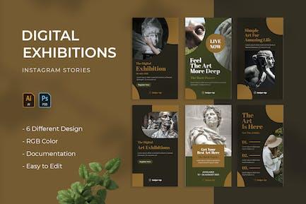 Digital Exhibitions | Instagram Story
