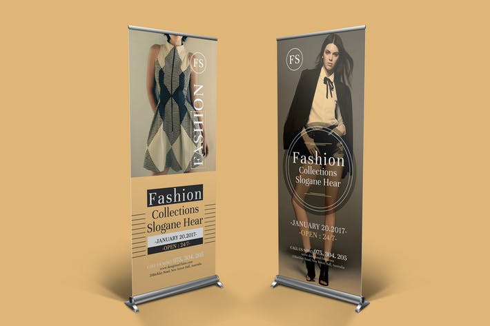 Thumbnail for Fashion Multipurpose Rollup Banner