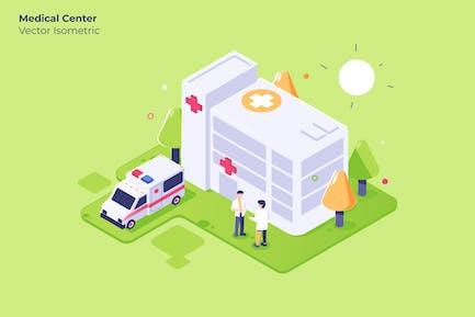 Medical Center - Vektor Illustration