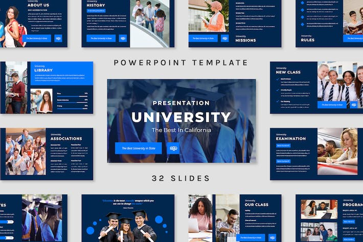 Thumbnail for University - Powerpoint Template (2 version)