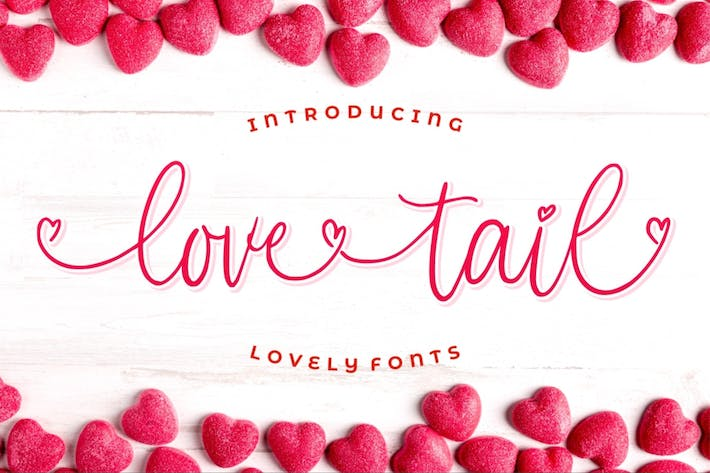 Love Tail - Beauty Love Swashes