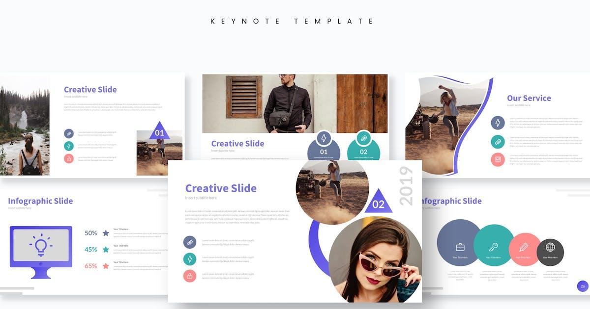 Galexa - Keynote Template by aqrstudio